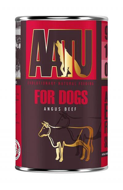 AATU FOR DOGS konservai su jautiena 400g