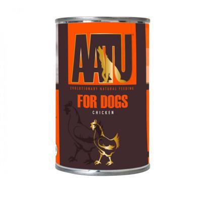 AATU FOR DOGS konservai su vištiena 400g