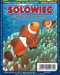 AKWEN Šaldytas pašaras žuvims SOLOWIEC (artemia) 100g
