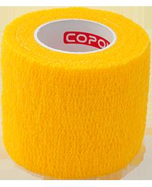 COPOLY tvarstis gyvūnų žaizdoms geltonas 5x450cm