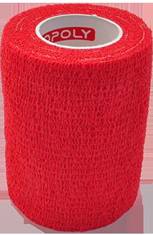 COPOLY tvarstis gyvūnų žaizdoms raudonas 7.5x450cm