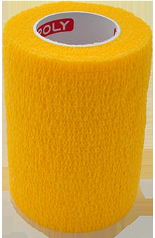 COPOLY tvarstis gyvūnų žaizdoms geltonas 7.5x450cm