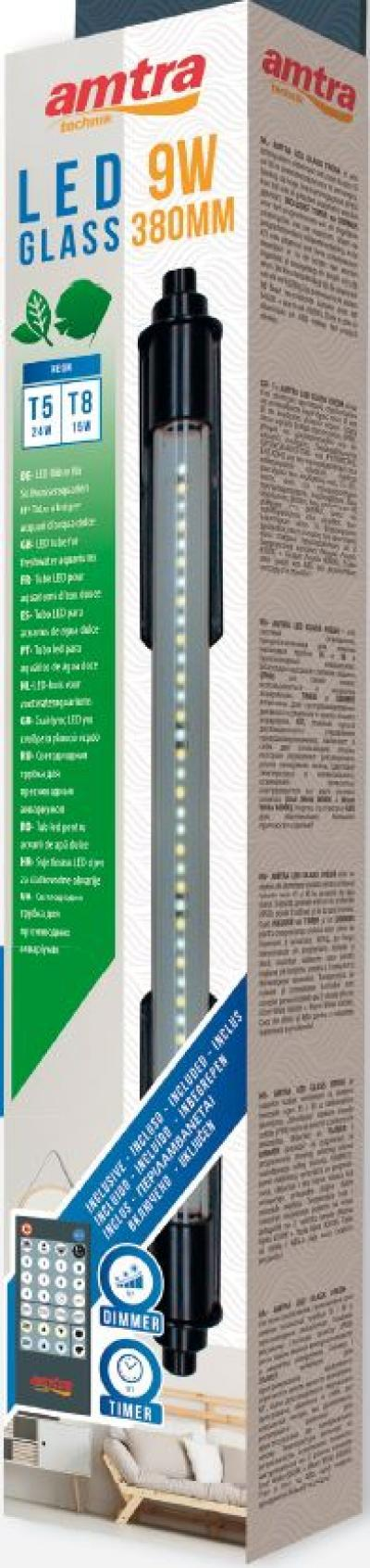 AMTRA lempa LED GLASS FRESH 480mm 12W