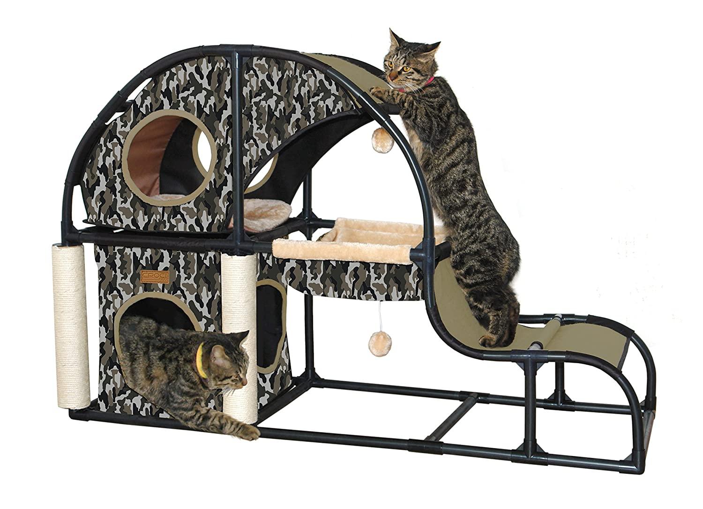 CROCI Parkour LG parkuro namas katėms 120xx80x40cm
