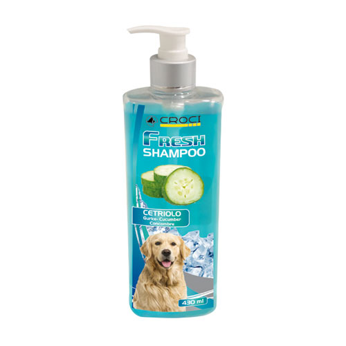 CROCI CETRIOLO vėsinantis šampūnas su agurkais 430ml