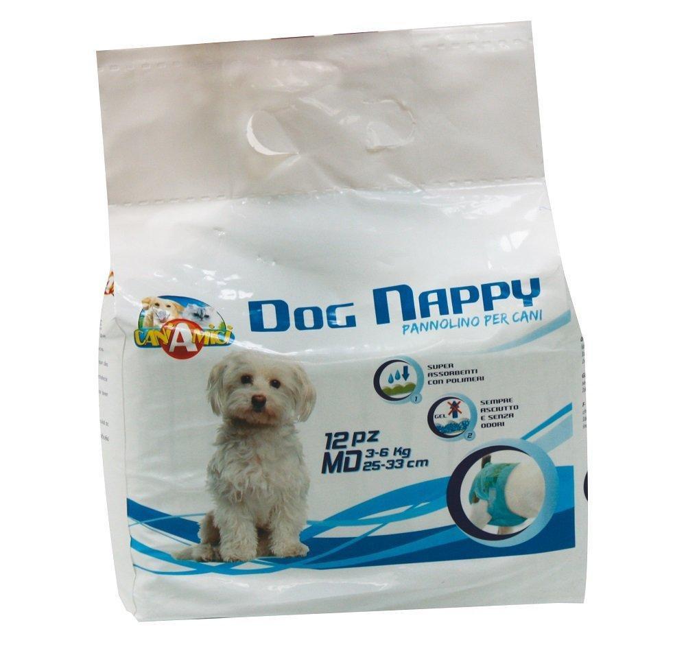 CROCI Dog Nappy sauskelnės šunim MD 3-6kg