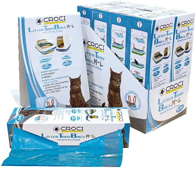 CROCI Universal Bags maišai kačių tualetams 10vnt