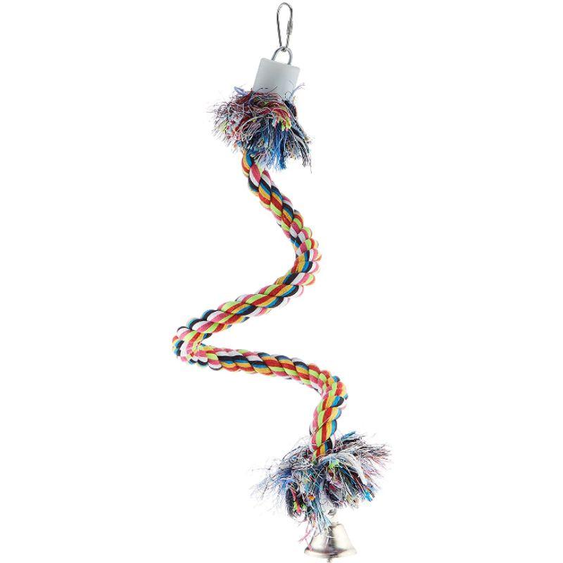 CROCI Bird Spiral-rope paukščių žaislas virvė S