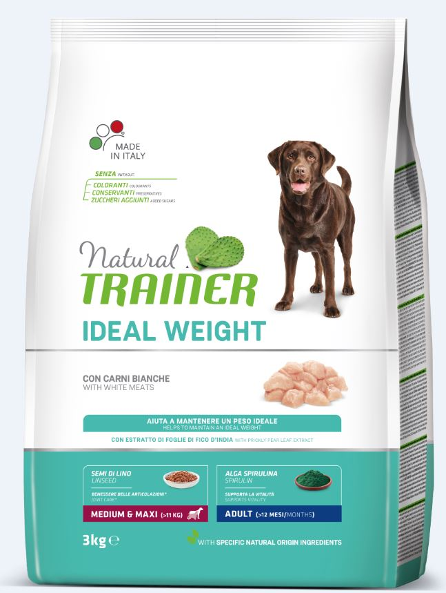 NT Adult IDEAL WEIGHT M/M (balta mėsa) 3kg