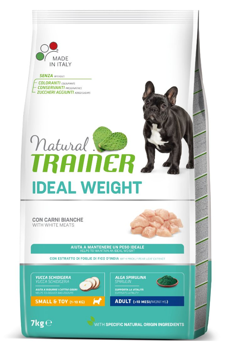 NT Adult IDEAL WEIGHT MINI (balta mėsa) 7kg