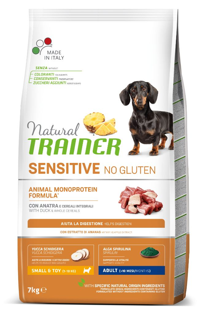 NT ADULT DOG SENSITIVE NO GLUTEN MINI DUCK (antiena) 7kg