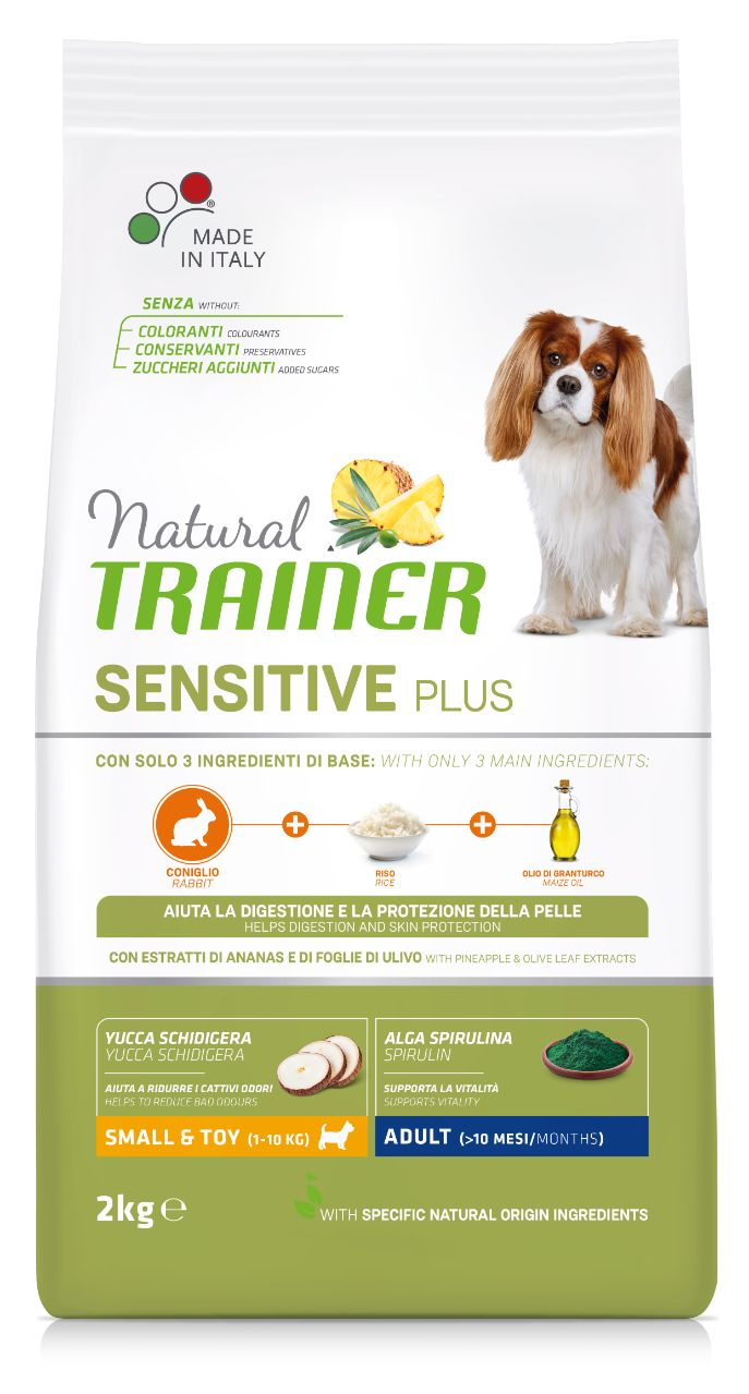 NT DOG SENSITIVE PLUS ADULT MINI RABBIT (triušiena) 2kg