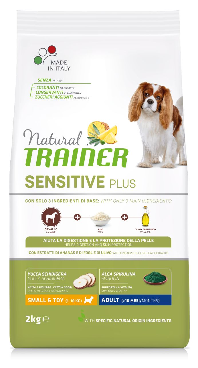 NT DOG SENSITIVE PLUS ADULT MINI HORSE (arkliena) 2kg