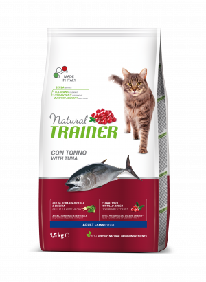 NATURAL TRAINER Cat adult tuna su tunu 1.5kg