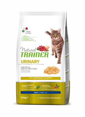 NATURAL TRAINER CAT URINARY CHICKEN su vištiena 1.5kg