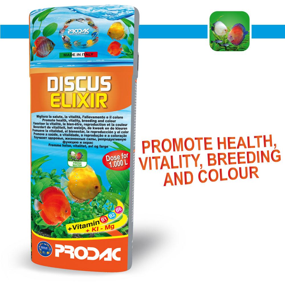 PRODAC Discus elixir tirpalas diskusams 250ml
