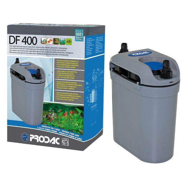 PRODAC Išorinis filtras DF-400, 20-50L akvariumui. Be UV