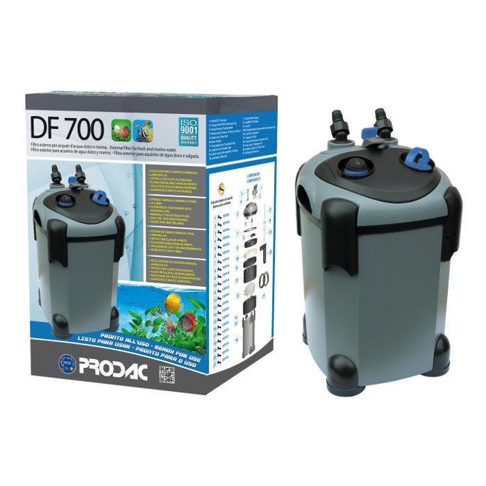 PRODAC Išorinis filtras DF-700, 100-200l akvariumui. Su UV