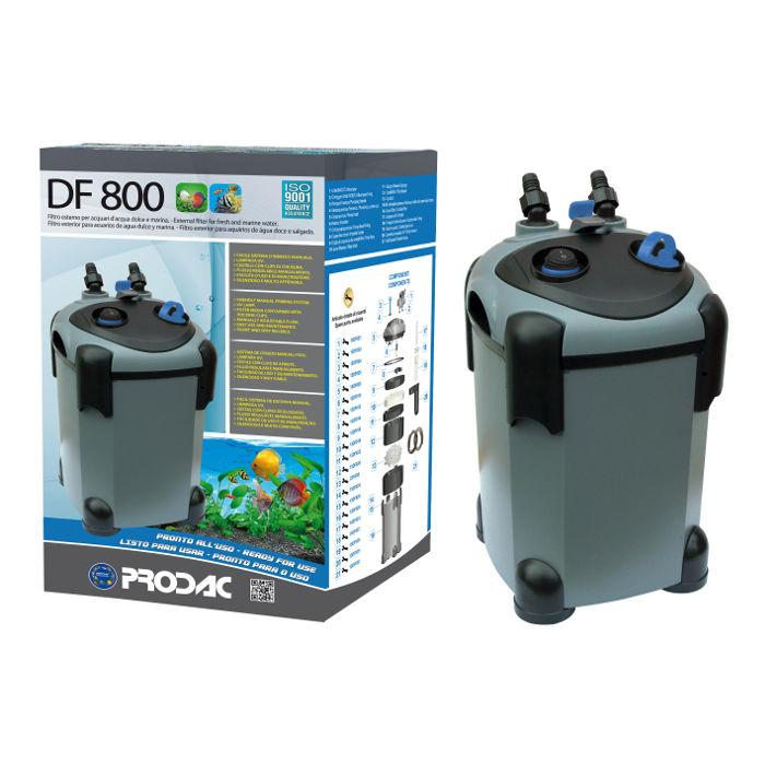PRODAC Išorinis filtras DF-800, 250-350L akvariumui. Su UV