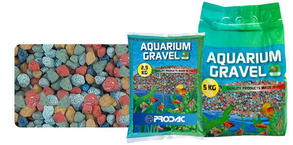 PRODAC Gruntas akvariumui spalvota keramika 2-3mm 2.5kg
