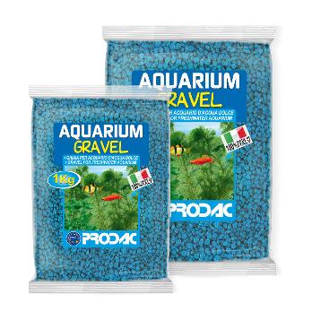 PRODAC Gruntas akvariumui žydras 2-3mm 2.5kg