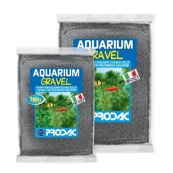 PRODAC Gruntas akvariumui juodas 2-3mm 1kg