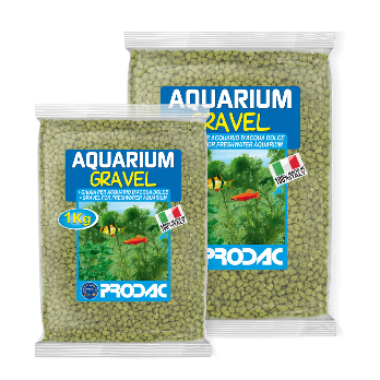 PRODAC Gruntas akvariumui geltonas 2-3mm 2.5kg
