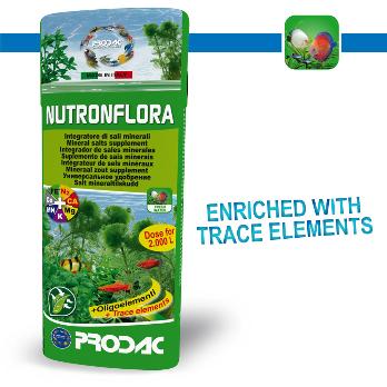 PRODAC NUTRON FLORA Mineralinių druskų papildas 100ml