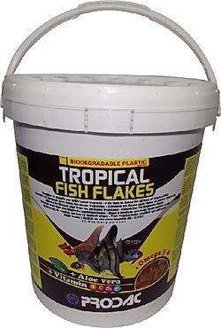 PRODAC TROPICAL FISH FLAKES dribsniai tropinėms žuvims 1kg