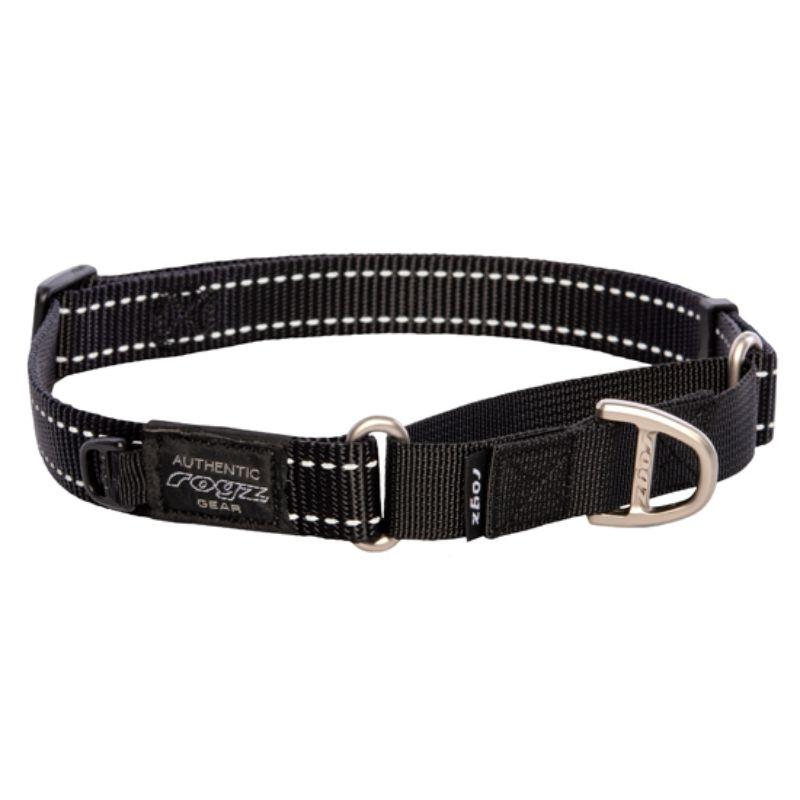 ROGZ Control Collar Black juost smaugtukas 24-36cm