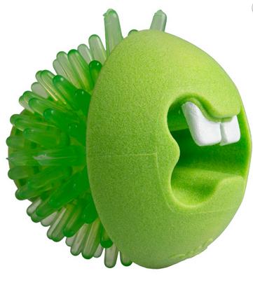 ROGZ FRED žalias kamuoliukas su spygliais 6.4cm