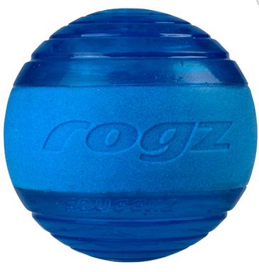 ROGZ Squeekz mėlynas kamuoliukas 6.4cm
