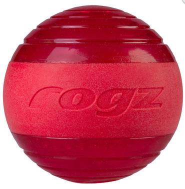 ROGZ Squeekz raudonas kamuoliukas 6.4cm