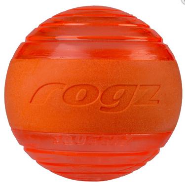 ROGZ Squeekz oranžinis kamuoliukas 6.4cm