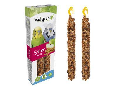 VADIGRAN Stixx Budgies Fruit paukščiam 85g 2vnt