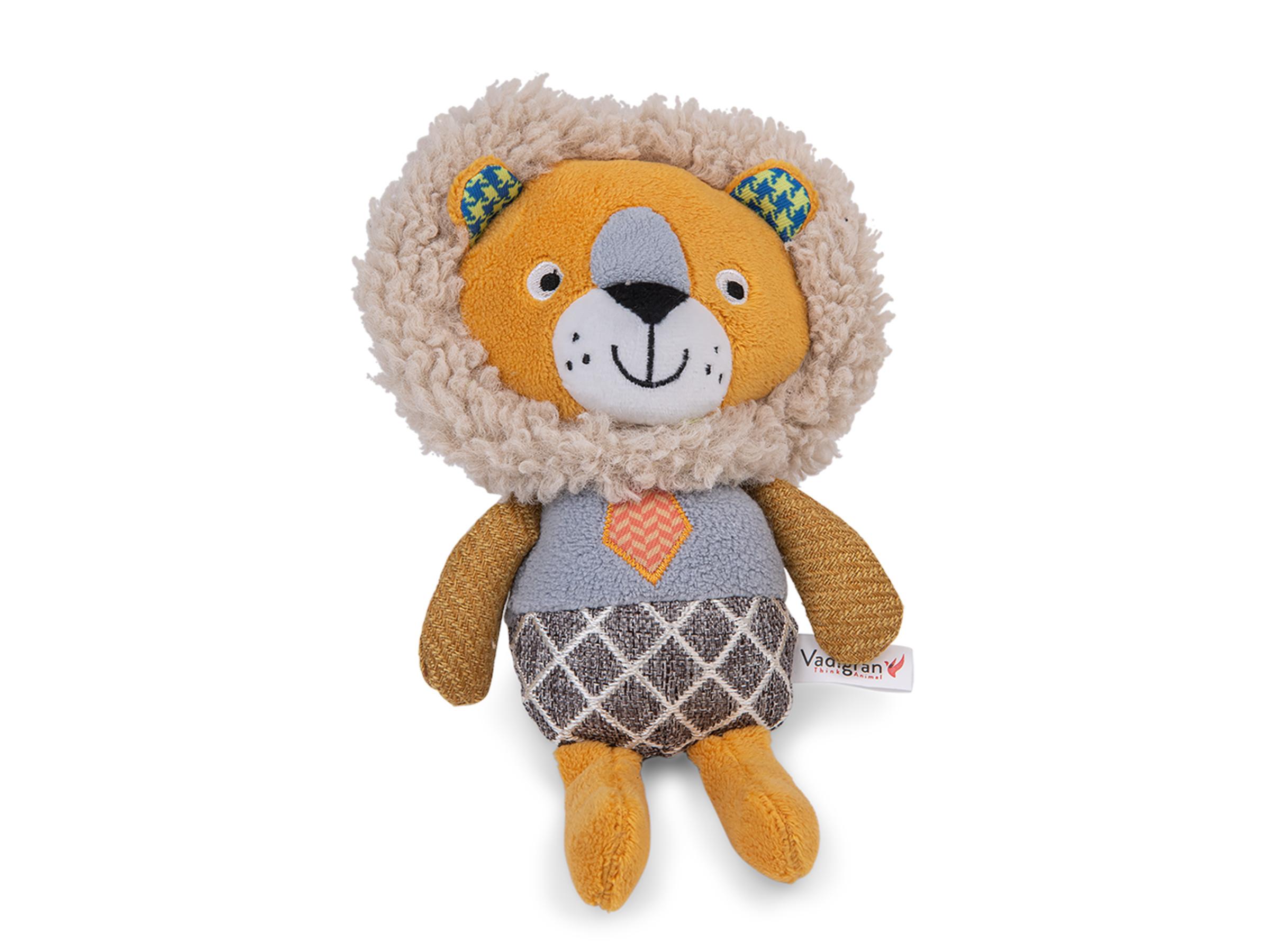 VDG Fancy Lion pliušinis liūtas šuniui 24cm