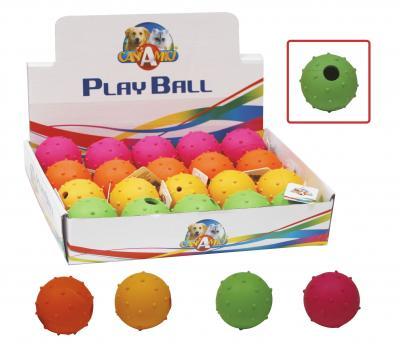 Žaislas guminis JUNGLE kamuoliukas 4.5cm