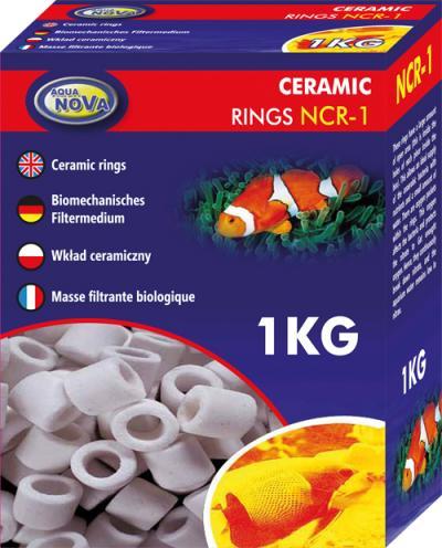 AQUA NOVA keramikiniai žiedai 1kg