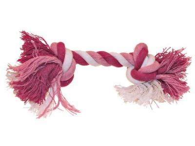 Virvelinis žaislas rožinis kaulas 15cm