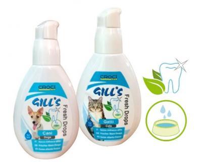 CROCI GILL'S priemonė gaiviam kačių burnos kvapui, 52ml