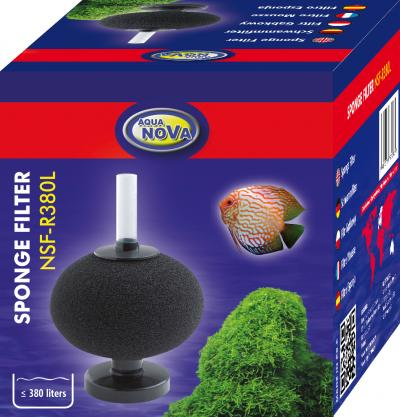 AQUA NOVA kempininio filtro NSF-R380L kempinė
