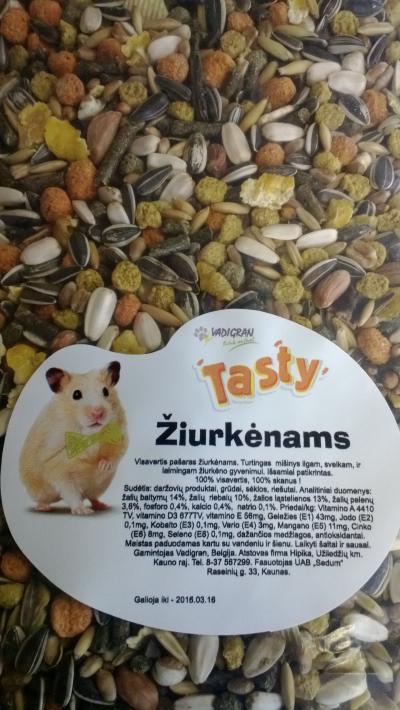 VADIGRAN TASTY pašaras žiurkėnams 0.5kg