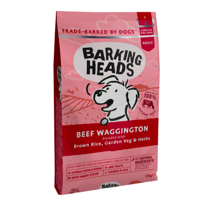 BARKING HEADS Beef Waggington (Jautiena) 12kg