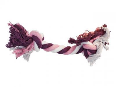 Virvelinis žaislas rožinis/violetinis kaulas 30cm