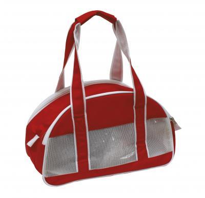 CROCI CARMEN raudona rankinė šuniui 36x18x21cm