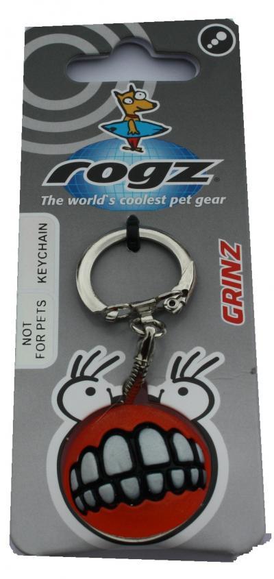 ROGZ Grinz raktų pakabukas raudonas