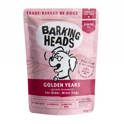 BARKING HEADS Wet Golden Years 300g Pouch