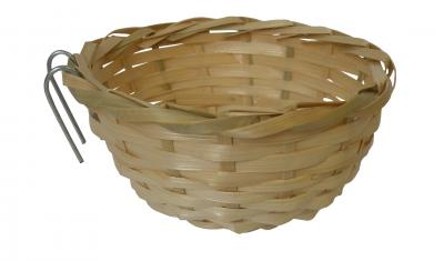 Croci bambukinis inkilas su kabliukais, 10cm