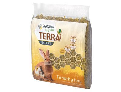 TERRA EXPERT šienas su motiejukais ir spanguolių ekstraktu 500g