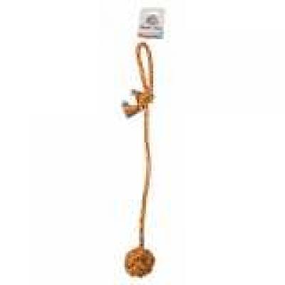 Virvelinis žaislas kamuolys su virve 55.8cm Ø8cm